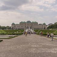 Belvedere Castle in Vienna, Austria. Photo via Flickr:Miguel Mendez