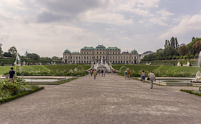 Belvedere Castle in Vienna, Austria. Photo via Flickr:Miguel Mendez