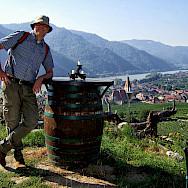 Wine tasting in the famous Wachau Valley along the Danube River, Austria. Photo via Flickr:thomassimon