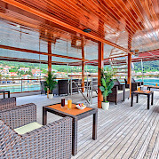 Deck Lounge on the Harmonia