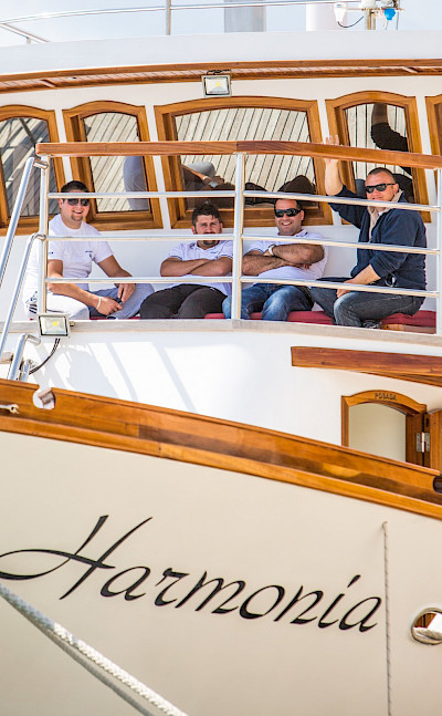 Harmonia Crew | Bike & Boat Tours