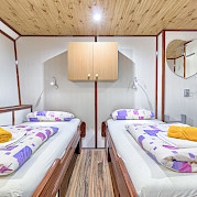 Twin Cabin on the Harmonia