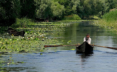 Fishing and boating on the Danube Delta. CC:Spiridon MANOLIU