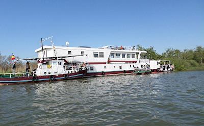 Hotel Boat on the Danube Delta Bike Tour.