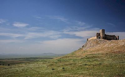 Medieval fortress of Enisala, Romania. CC:Radueduard