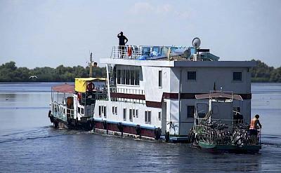 The Danube Delta's Hotel Boat.