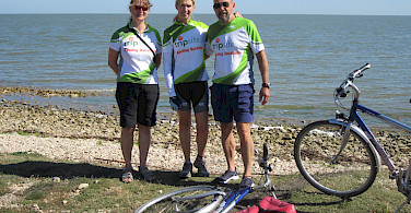Cycling the Danube Delta. Photo courtesy of Don Conklin.