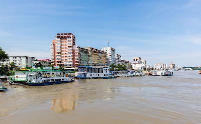 Puerto de Tulcea, Danube Delta, Romania. CC:Deigo Delso