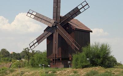 Windmill in Tulcea, Romania. Flickr:Brian Lowe