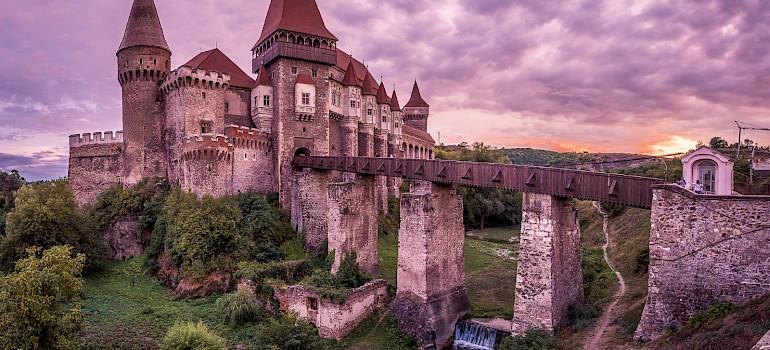 Corvin Caslte in Hunedoara, Romania. Flickr:Giuseppe Milo