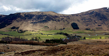 Scenic countryside for sure on this bike tour. Angus Glens, Scotland. Photo via Flickr:Nick Bramhall