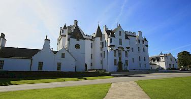 Blair Castle, Highland Perthshire, Scotland. Photo via Flickr:photojenni