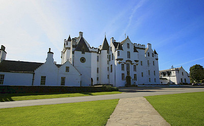 Blair Castle, Highland Perthshire, Scotland. Photo via Flickr:photojenni