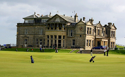 St. Andrews famous golf course in Fife, Scotland. Photo via Flickr:madu-ussike