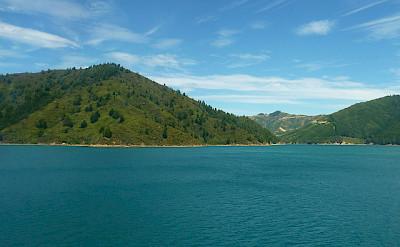 Marlborough Sounds. Photo via Flickr:Mafue