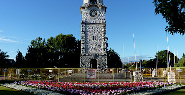 Seymour Square, the main square in Blenheim. Photo via Flickr:Mafue