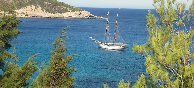 Sailing the Balearic Islands