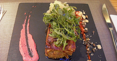Ibiza City restaurant on the Balearic Islands cycle tour
