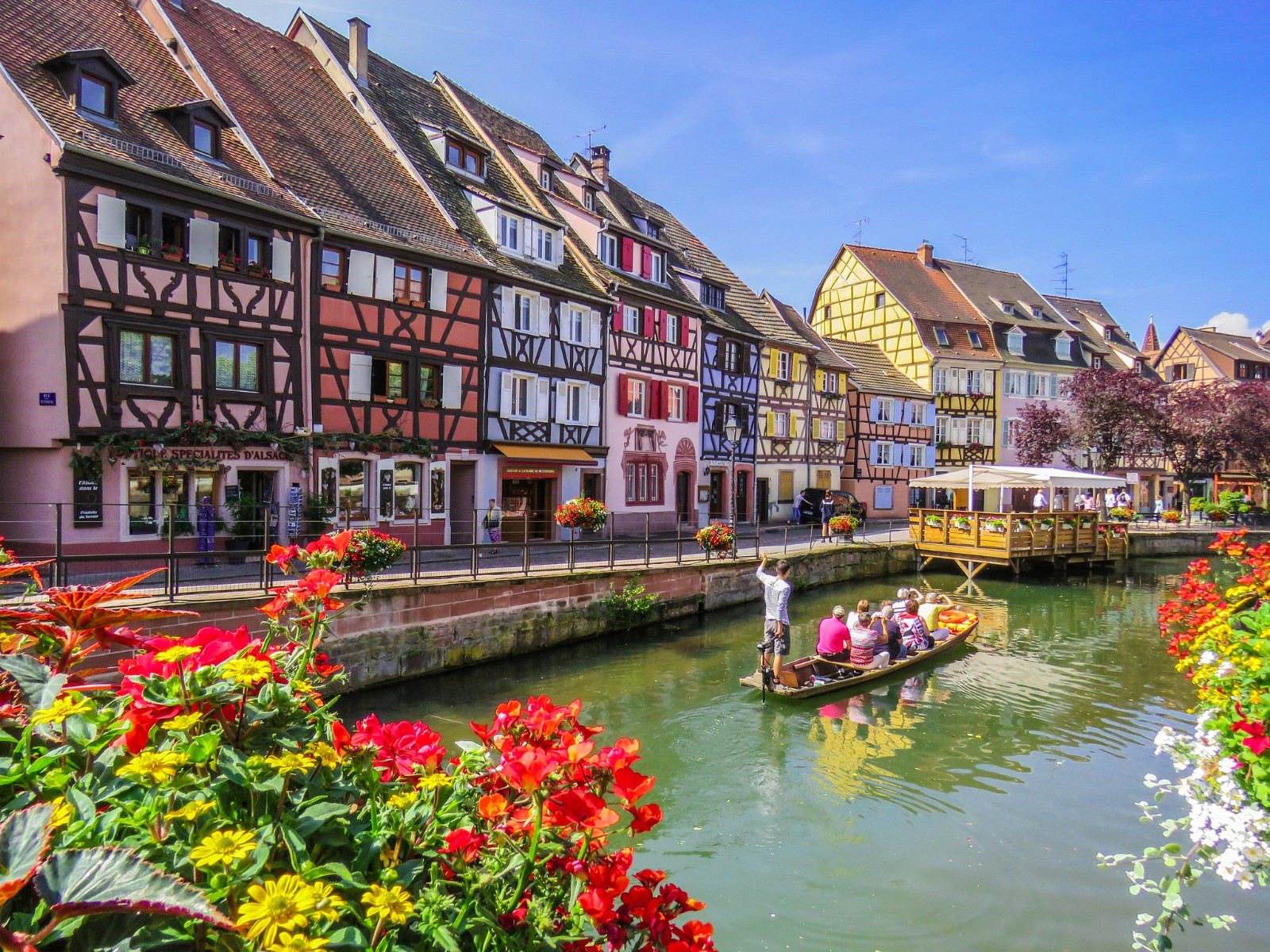 Elsass Karte Colmar.Alsace Road Bike Tour France Tripsite