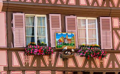 Lovely facades in Colmar, Alsace, France. Photo via Flickr:Kiefer