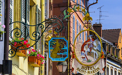 Colmar is known for being <i>the capital of Alsatian wine</i>. Alsace, France. Photo via Flickr:Kiefer