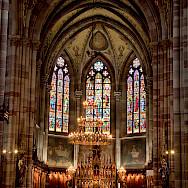 Church in Obernai, France. Photo via Flickr:alh1