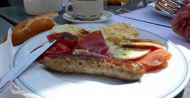 Delicious meats and cheeses in the Alsace region. Photo via Flickr:leafar
