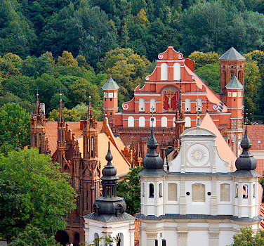 Old Town in Vilnius, Lithuania. A UNESCO World Heritage Site. Photo via Flickr:Sarunas Burdulis