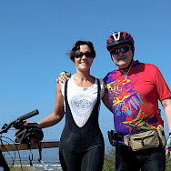 Enjoying this Baltic Sea bike tour. Photo courtesy of Augusto Terrero Martinez and Maria Angeles Corta Beistegui