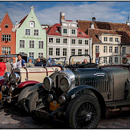Car show in Tallinn, Estonia. Photo via Flickr:W. Seiler