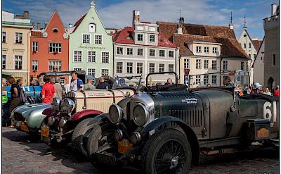 Car show in Tallinn, Estonia. Flickr:W. Seiler