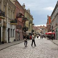 Bike break in Kaunas, Lithuania. Photo via Flickr:Christine und Hagen Graf