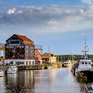 Port City of Klaipeda, Lithuania. Photo via Flickr:Mantas Volungevicius