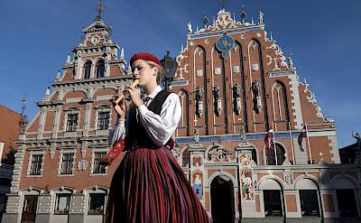 Building of the Brotherhood of Blackheads, Riga, Latvia. Flickr:Bryan Ledgard
