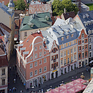 Old Town, Riga, Latvia. Photo via Wikimedia Commons:Diego Delso