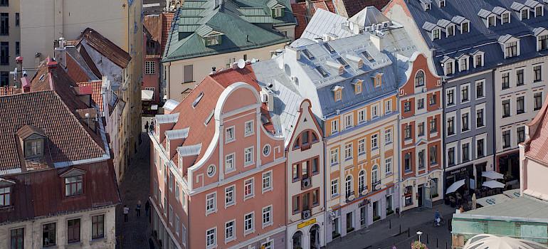 Old Town, Riga, Latvia. Photo via Wikimedia Commons:Diego Delso