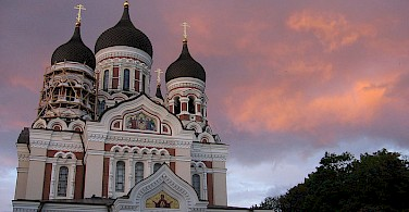 Orthodox Alexander Nevsky Cathedral, Tallinn, Estonia. Photo via Wikimedia Commons:Julo