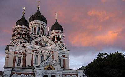 Orthodox Alexander Nevsky Cathedral in Tallinn, Estonia. CC:Julo