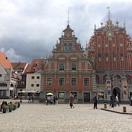 Main square in Riga, Latvia. Flickr:Jeremy Keith
