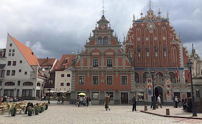 Main square in Riga, Latvia. Flickr:Jeremy Keith