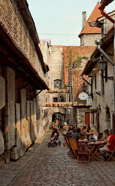 Saint Catherine's Passage in Tallinn, Estonia. CC:Stephane Martin