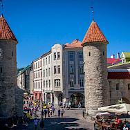 Towers as you enter Tallinn, Estonia. Photo via Flickr:Mike Beales
