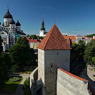 Magnificent churches in Tallinn, Estonia. Photo via Flickr:Rob Oo