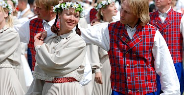 Festival in Tallinn, Estonia. Photo via Flickr:ToBreatheAsOne