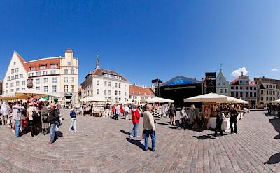 Marketplace in Tallinn, Estonia. CC:Holger Vaga
