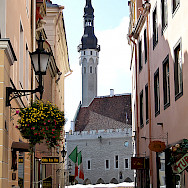 UNESCO World Heritage town of Tallinn in Estonia. Creative Commons:Hedwig Storch