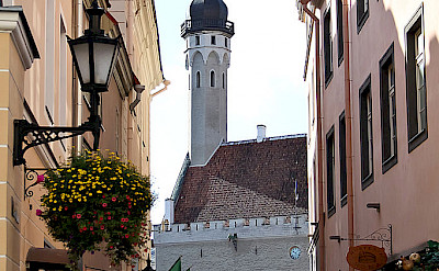 UNESCO World Heritage town of Tallinn in Estonia. CC:Hedwig Storch