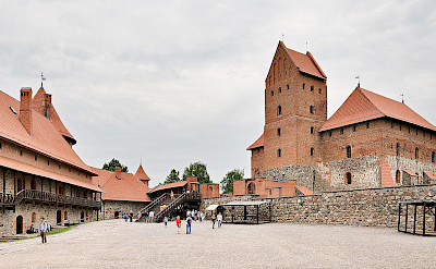 Trakai Island & Castle in Lithuania. CC:Dmitry Amottl