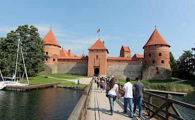 Trakai Castle in Lithuania. Flickr:Nicu Buculei