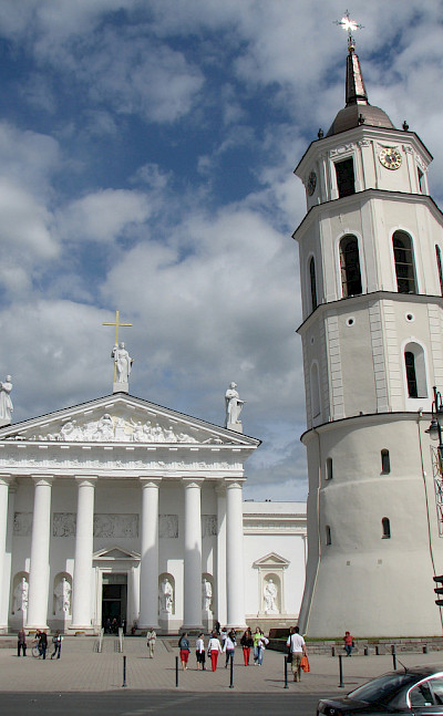 Vilnius Cathedral & Bell Tower in Lithuania. Flickr:Chris Price